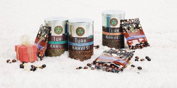 Kahve dünyası yeni yıl kutuları