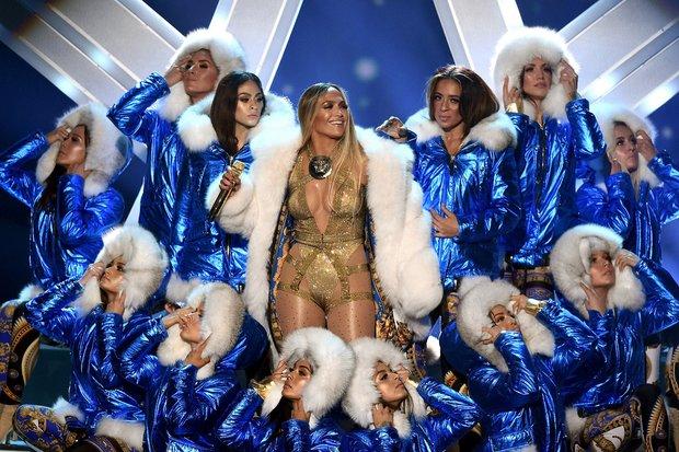 Jennifer Lopez sahne şovu MTV Video Müzik Ödülleri 2018