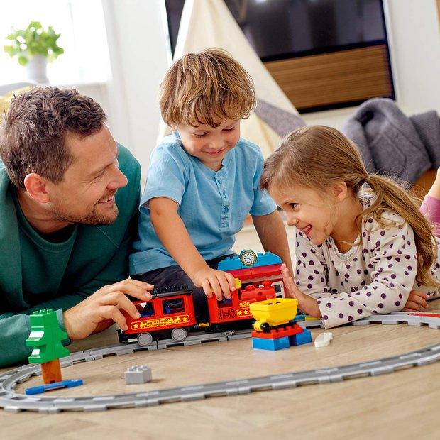 Lego buharlı tren