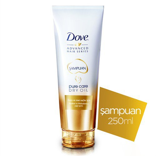 Dove Pure Care Dry Oil - Şampuan