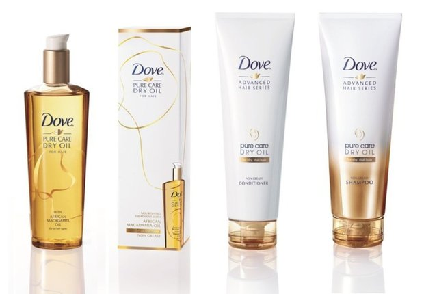 Dove Pure Care Dry Oil Hair Series