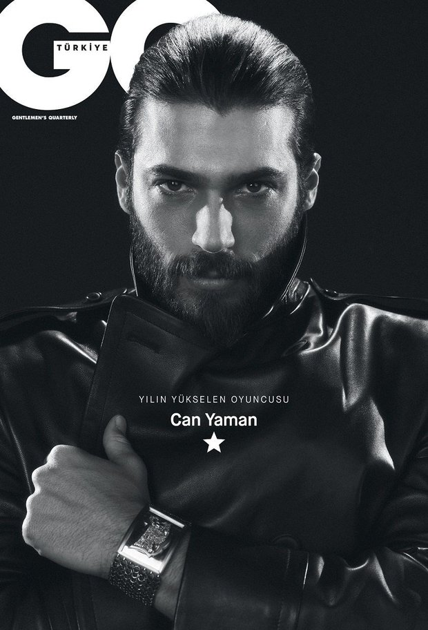 GQ Men of The Year 2018 Can Yaman