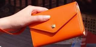 turuncu cüzdan