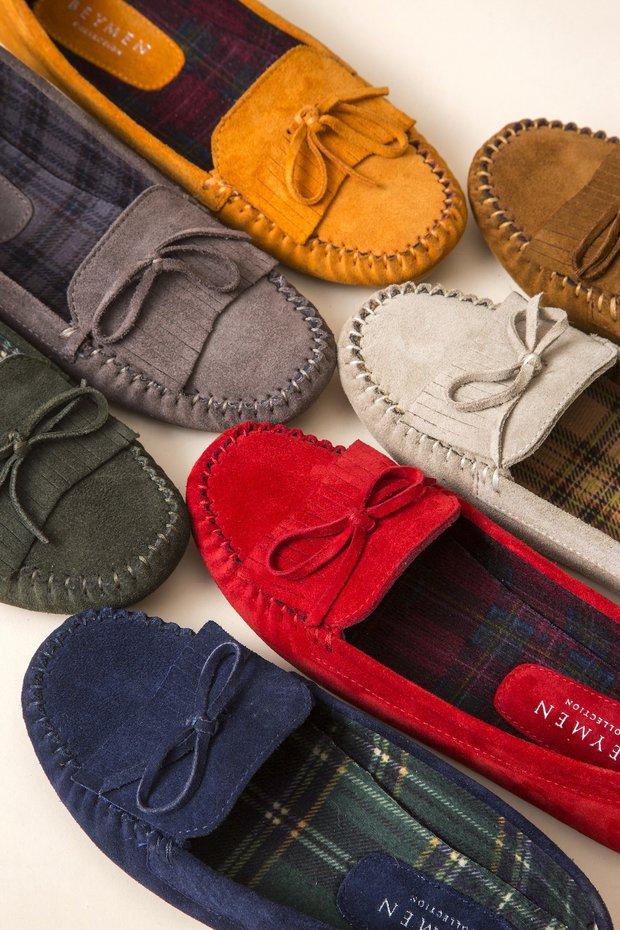 Pantofla ayakkabı koleksiyonu