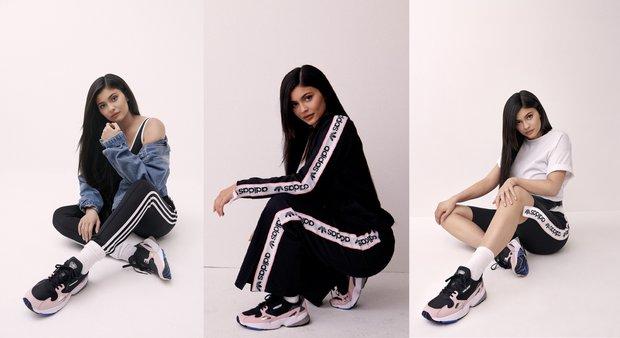 Kylie Jenner & Adidas Original's Falcon