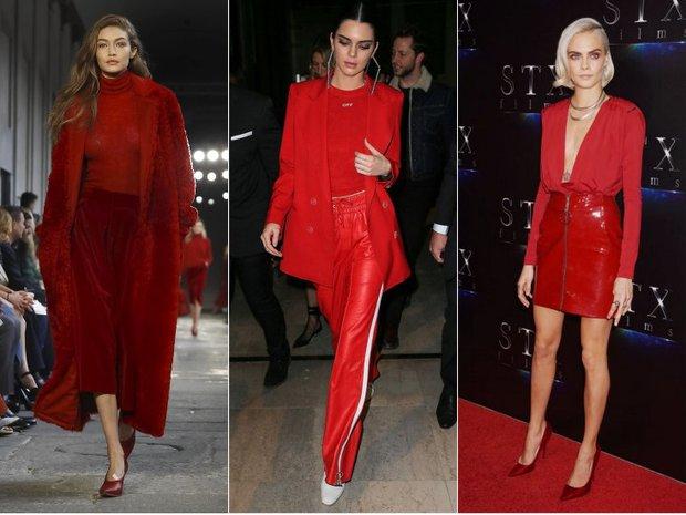 Gigi Hadid, Kendall Jenner, Cara Delevingne