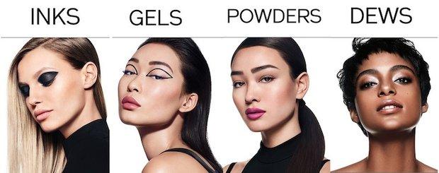 Shiseido ürün grupları