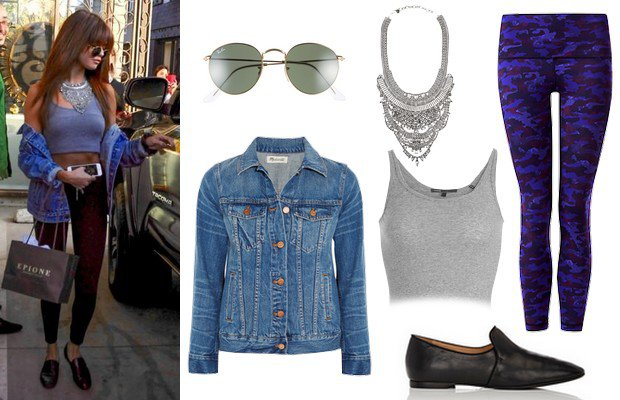 Selena Gomez'in sokak ve davet stili
