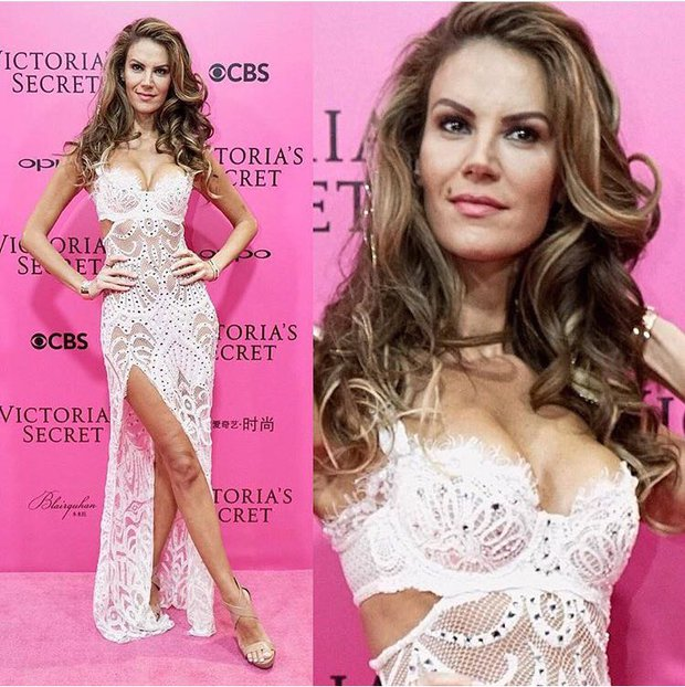 Tülin Şahin Victoria's Secret Pink Carpet