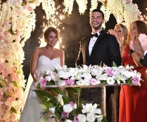 berk oktay merve şarapçıoğlu düğün