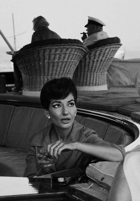 Maria Callas | Fotoğraf: Ara Güler