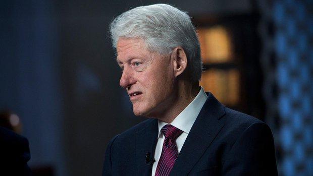 Soğan tipi burun Bill Clinton