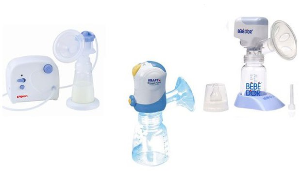 Elektrikli süt pompaları