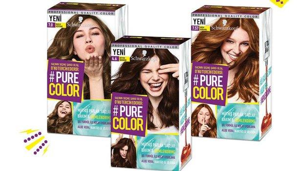 Pure color jel saç boyası
