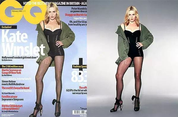 GQ 2003 Kate Winslet Photoshop