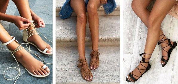 ipli sandalet festivale uygun ayakkabı