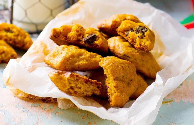 Çikolatalı balkabağı kurabiyesi tarifi