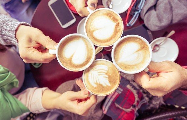 Pudra uygulamamızda kahve paylaşımları