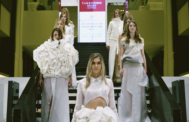 Vakko Esmod Moda Akademisi 2015 yıl sonu defilesi