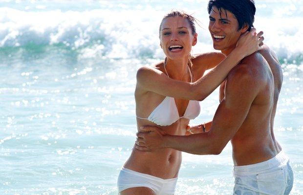 mutlu cift cinsellik yasam deniz kadin erkek