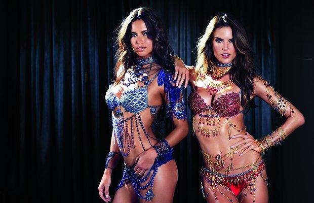 Victoria's Secret'tan ilk defa iki Fantasy Bra victorias secret fantasy 1