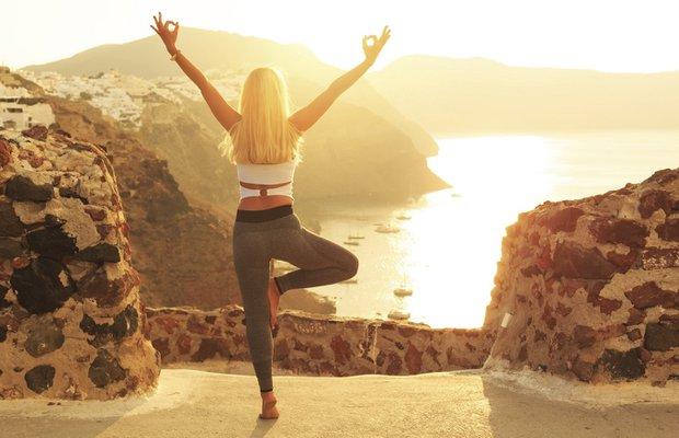 kadin spor yoga meditasyon