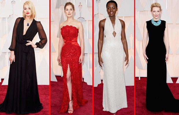 2015 Oscar Töreninin en şık elbiseleri