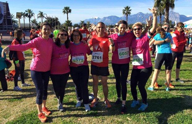 'Sen Koş Kadınlar İşe Dönsün!' kampanyası