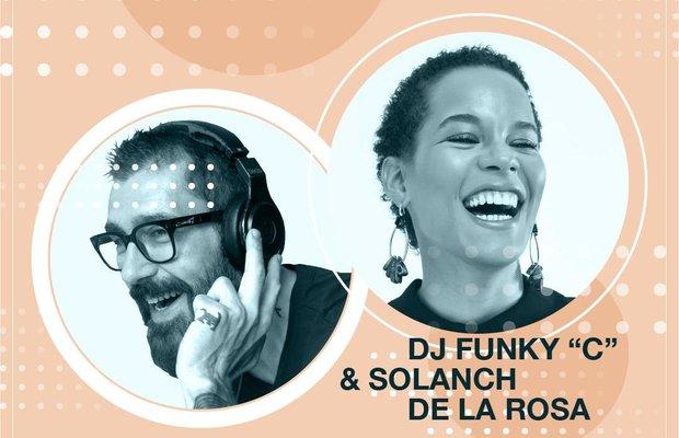 DJ Funky C ve Solanch de la Rosa Glens İstanbul'da