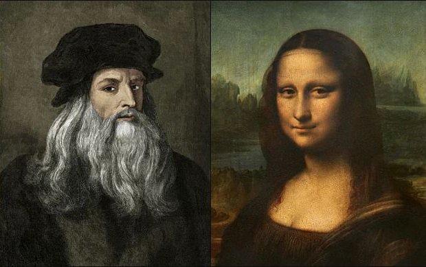 Leonardo Da Vinci ve Mona Lisa İstanbul'da