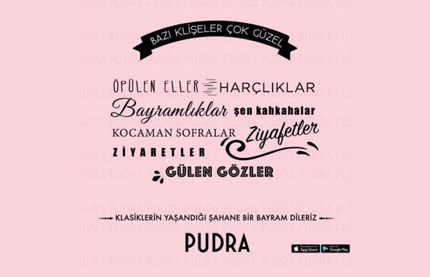 Pudra.com olarak herkesin bayramını kutluyoruz!