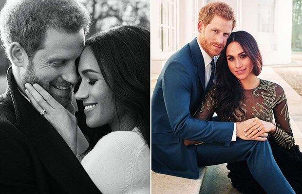 Prens Harry ve Meghan Markle'ın resmi nişan fotoğrafları