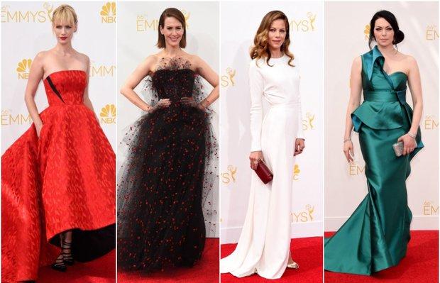 2014 Emmy Ödül Töreni'nin şık ve rüküşleri