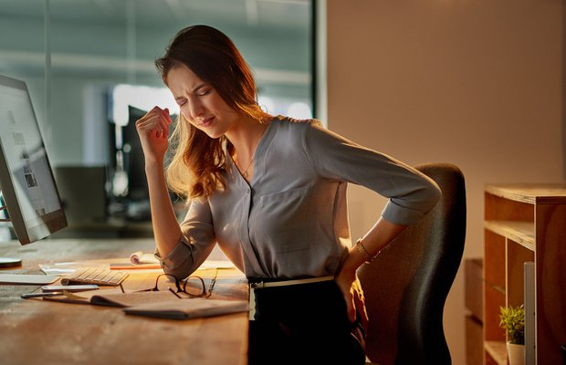 Bel fıtığına neden olan 6 hatalı alışkanlık