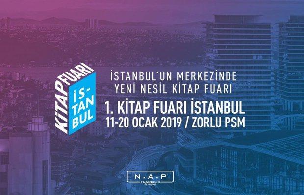 Şehrin merkezinde kitap fuarı: 1. Kitap Fuarı İstanbul