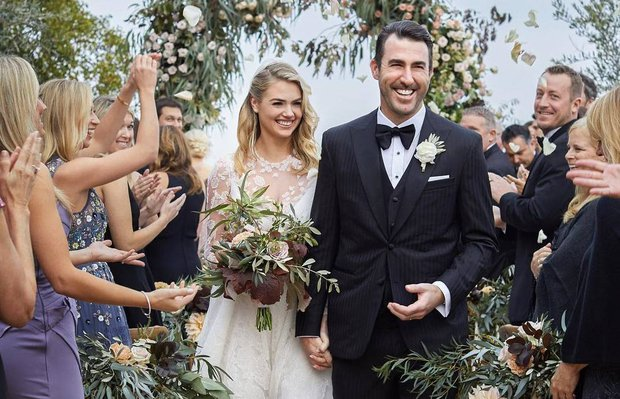 Kate Upton evlendi