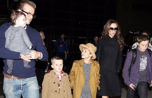Beckham Ailesi'nin şıklığı