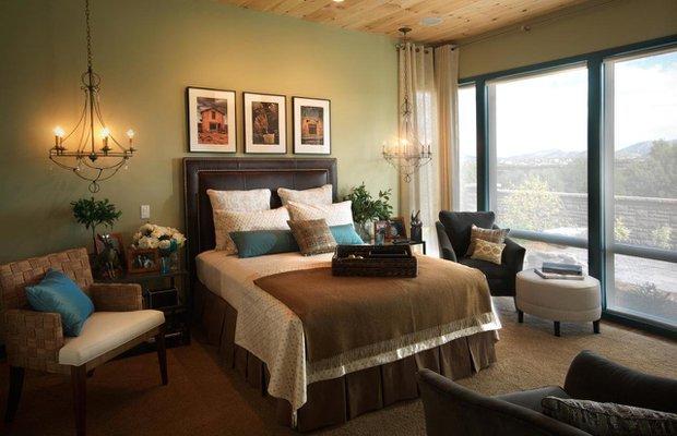 yatak odasi dekorasyonunda aydinlatma1