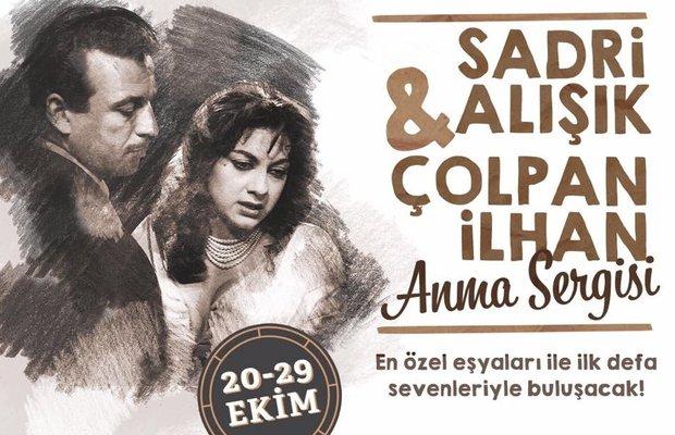 Sadri Alışık ve Çolpan İlhan Anma Sergisi ilk kez Ankara'da