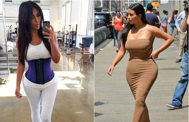 Kim Kardashian korsesi ile egzersiz yapmak inceltiyor mu?