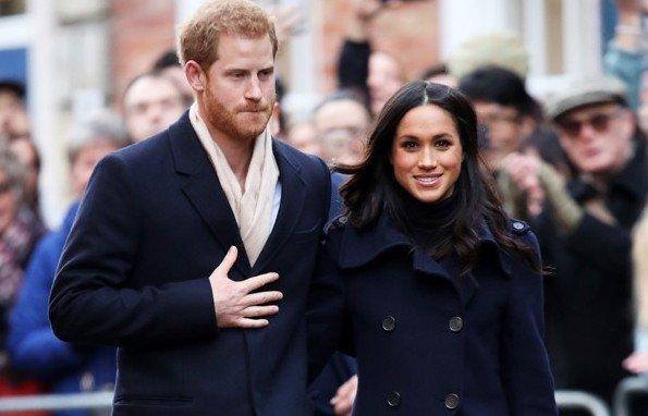 Meghan Markle ve Prens Harry'den ilk resmi ziyaret