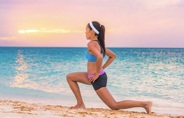 8 adımda plajda forma girme egzersizleri