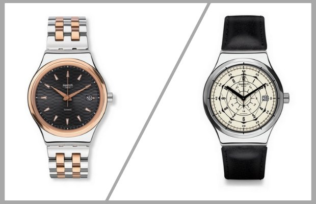Swatch'un yeni saati SISTEM51 Irony ile metali keşfedin