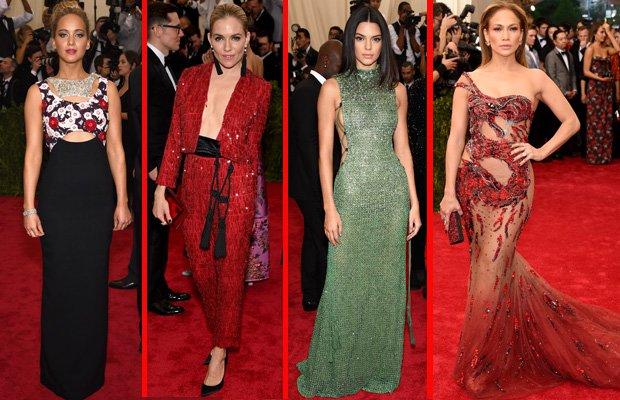 Met Gala 2015'te kim, ne giydi? met gala 2015 1