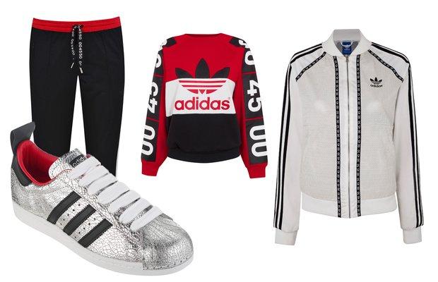 Topshop X Adidas Originals Kapsül Koleksiyonu topshop x adidas 1