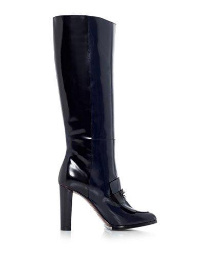 2013'ün en güzel çizme modelleri Balenciaga cizme 2013 3