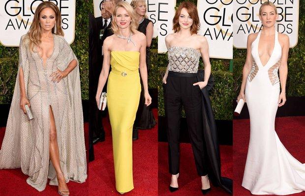 2015 Altın Küre (Golden Globe) Ödülleri'nin en şık 10 elbisesi golden globe altin 1