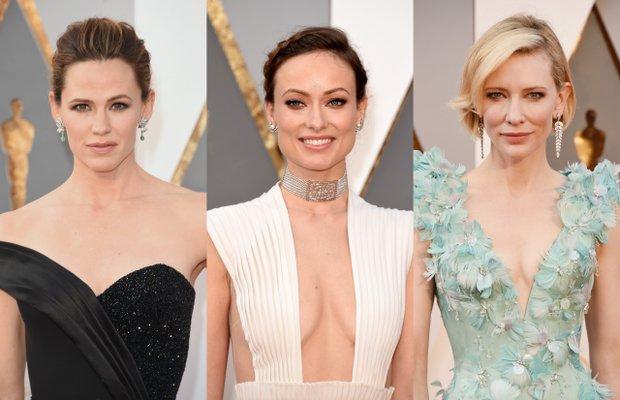 2016 Oscar Ödül Töreni'nin en güzel saç ve makyajları 1