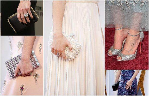 2016 Oscar Ödül Töreni'nin en şık ayakkabı ve çantaları