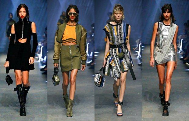 Versace 2017 İlkbahar-Yaz koleksiyonu 1